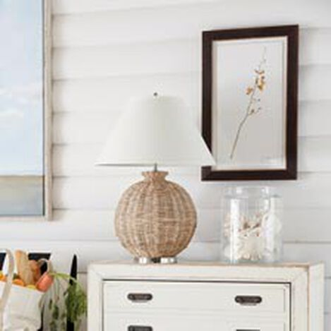 Seagrass Table Lamp ,  , hover_image