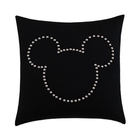 Mickey Mouse Nailhead Pillow ,  , large