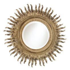 Miroir en Forme de Soleil Rayonnant ,  , large