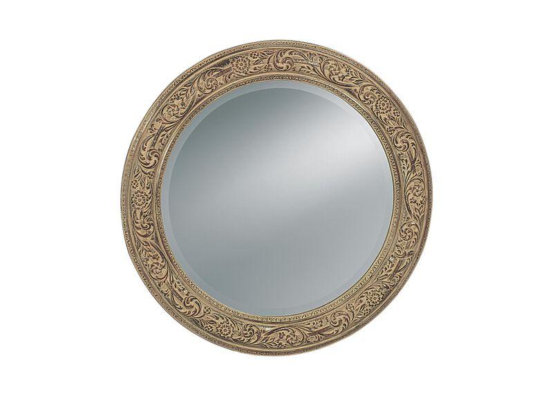 Ornately Framed Mirror ,  , large_gray