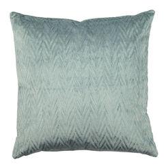 Chevron Velvet Pillow ,  , large