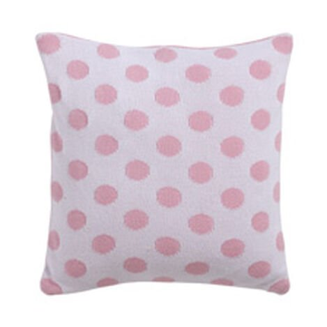 Dotty Knit Pillow, Petal ,  , hover_image