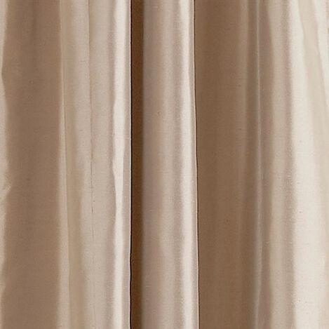 Ivory Satin Dupioni Fabric ,  , large