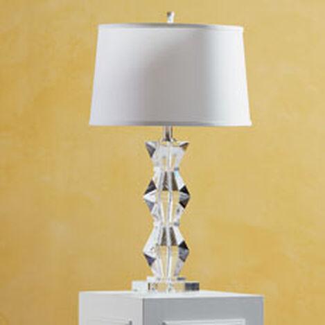 Lampe de Table Géométrique en Cristal ,  , hover_image