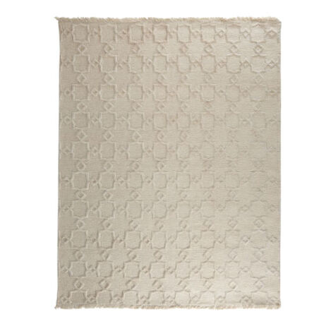 Lattice Soumak Rug, Natural ,  , large