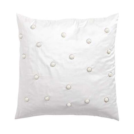 Pearl Embellished Pillow ,  , large