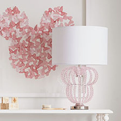 Minnie Mouse Beaded Accent Lamp ,  , hover_image