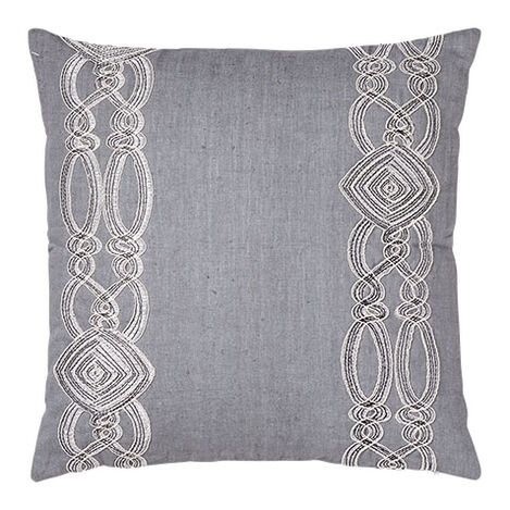 Embellished Square Pillow ,  , large