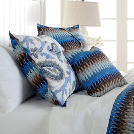 Housse décorative pour oreiller Euro cachemire Vasanti ,  , large