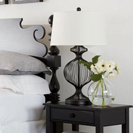 Lampe de Table Cage Noire Kenzie ,  , hover_image