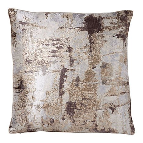 Melange Pillow, Mocha/Gold ,  , large