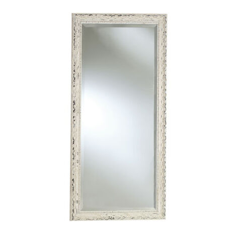 Decorative Carved Floor Mirror ,  , large