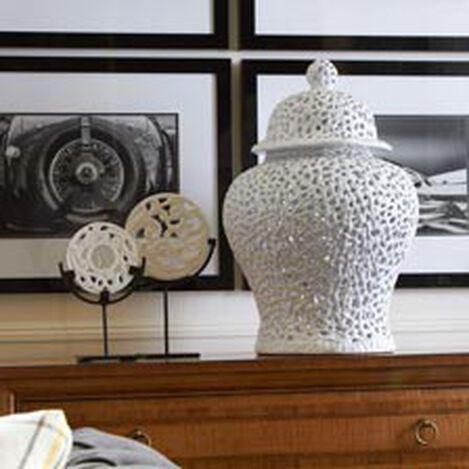 Large Pierced Temple Jar ,  , hover_image