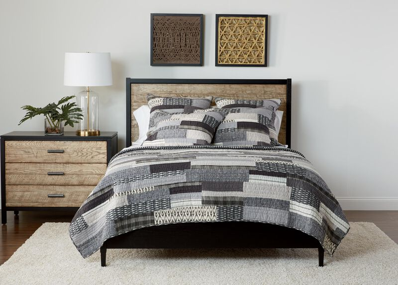 Kennan Quilt and Shams ,  , large_gray