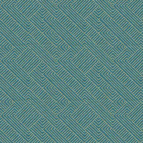 Hadi Teal Fabric ,  , large