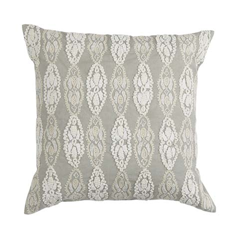 Giorgina Embroidered Decorative Pillow ,  , large