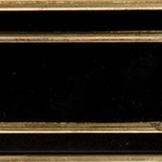 Piano / Gold Metallic Leaf (564): Black paint with gold leaf accents, high sheen.