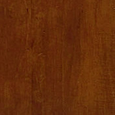 Caraway (277): Rich warm brown stain with dark glaze, moderately distressed, softly worn corners.