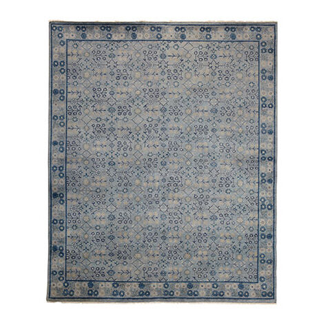 Khotan Rug, Gray/Blue ,  , large