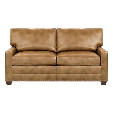 Bennett Track-Arm Leather Two Seat Sofa Product Tile Image bennettlthTA2seat