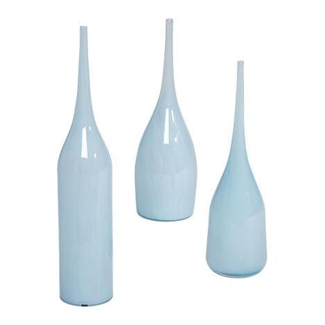 Blue Glass Goddess Vases Product Tile Image 432061