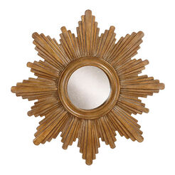 "26"" Gold Sunburst Mirror Recommended Product"