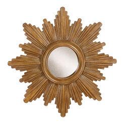 Miroir en forme d'étoile dorée 67cm Recommended Product