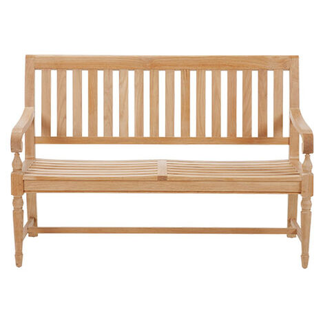 Millbrook Wood-Seat Garden Bench ,  , large