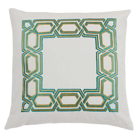 Chainstitch Decorative Pillow ,  , large