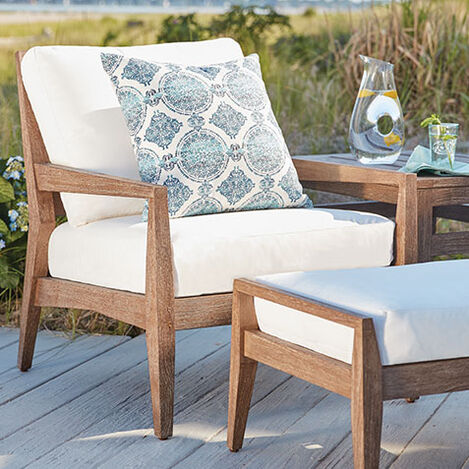 Bridgewater Cove Teak Lounge Chair Product Tile Hover Image 404000