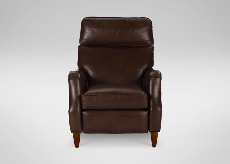Aiden Leather Recliner ,  , large_gray