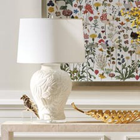 Flora White Table Lamp ,  , hover_image