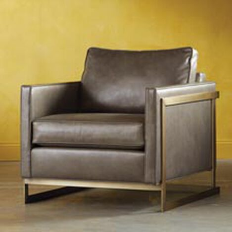 Harley Leather Lounge Chair ,  , hover_image