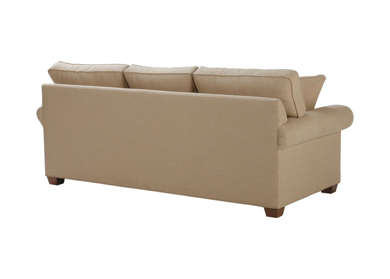 Bennett roll arm loveseat ethan allen ethan allen for Sofa with only one arm