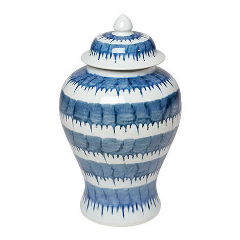 Dark Blue and White Drip Jar Product Tile Image 432099