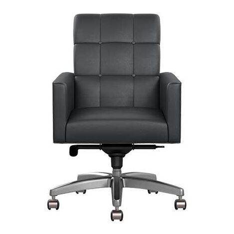 Gareth Leather Desk Chair Product Tile Image 722176