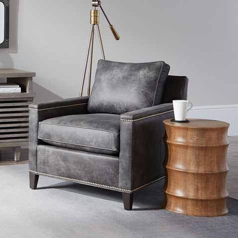 Glen Small Leather Club Chair Product Tile Hover Image 722267