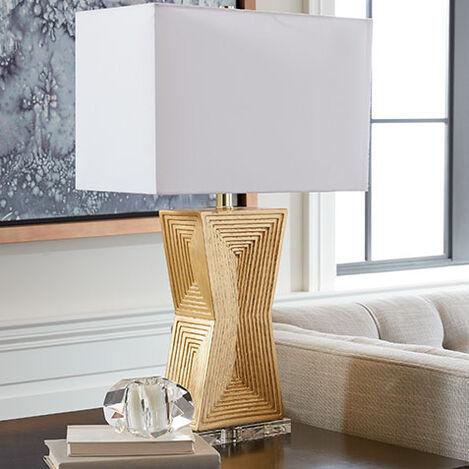 Saxon Geometric Table Lamp ,  , hover_image