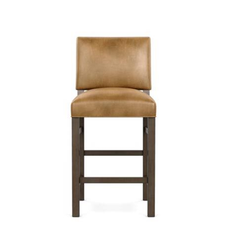Hadley Leather Counter Stool, Straight Top and Square Leg Product Tile Image 727193