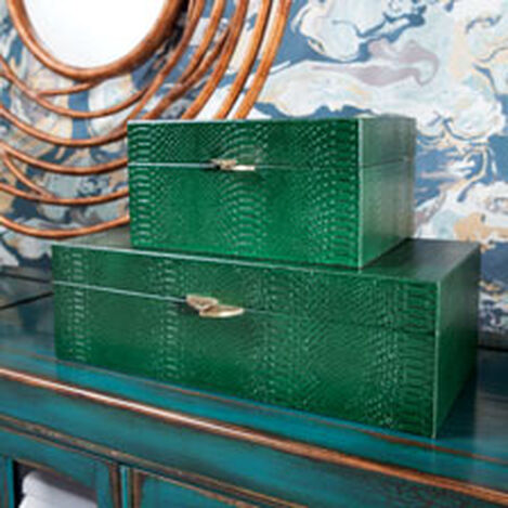 Emerald Snakeskin Box Product Tile Hover Image 431723