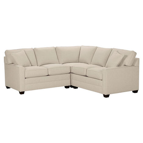 Bennett Track-Arm Three Piece Sectional, Quick Ship ,  , large