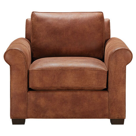 Spencer Roll-Arm Leather Chair Product Tile Image spencerRAchairLTH