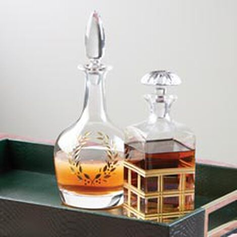 Laurel Etched Decanter ,  , hover_image