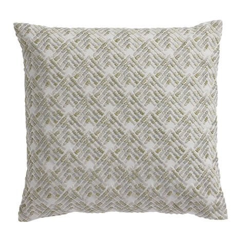 Embroidered Chevron Pillow Product Tile Image 061322