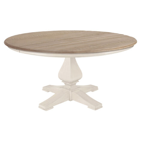 Cameron Rustic Round Dining Table Product Tile Image 156763