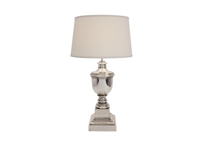 Otis Small Silver Table Lamp Table Lamps Ethan Allen