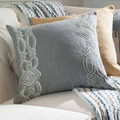 Embellished Square Pillow ,  , hover_image