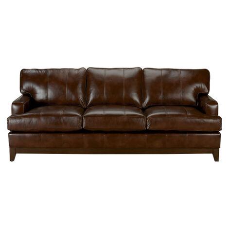 Arcata Leather Sofa, Quick Ship Product Tile Image arcataQSlth