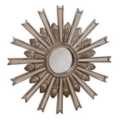 Miroir en forme d'étoile argentée 51cm Recommended Product