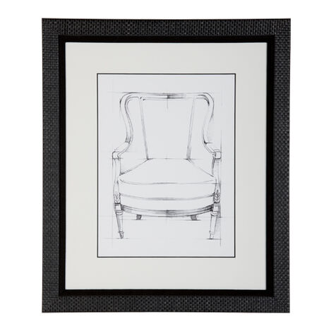 Historic Chair Sketch Iii Product Tile Image 071046C